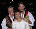 Jon Lee, Joanna Ampil and Oliver Thornton