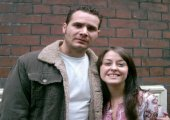 Jonathan Williams and Kelly-anne Gower